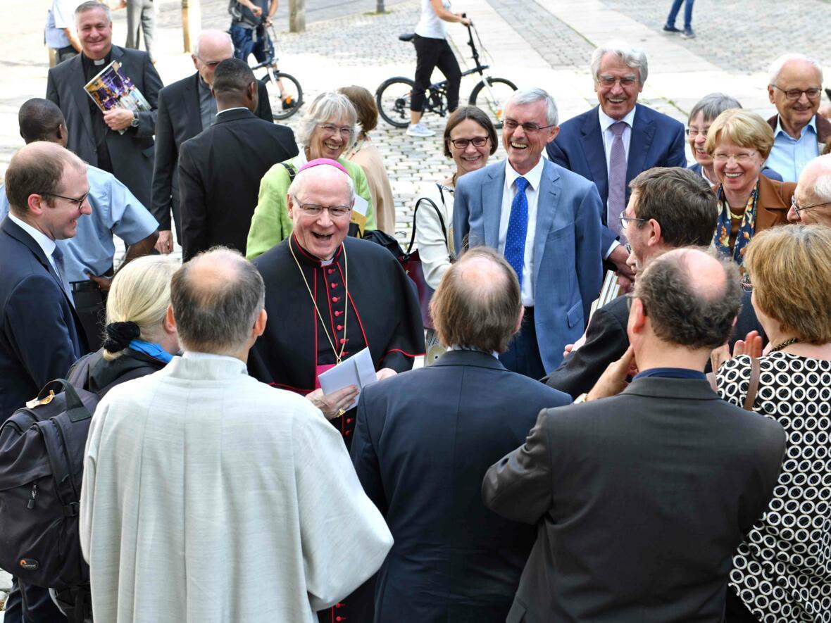 Dankgottesdienst zur Verabschiedung von Bischof Konrad (Foto Nicolas Schnall_pba) 25