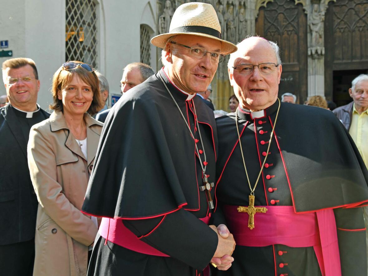 Dankgottesdienst zur Verabschiedung von Bischof Konrad (Foto Nicolas Schnall_pba) 30