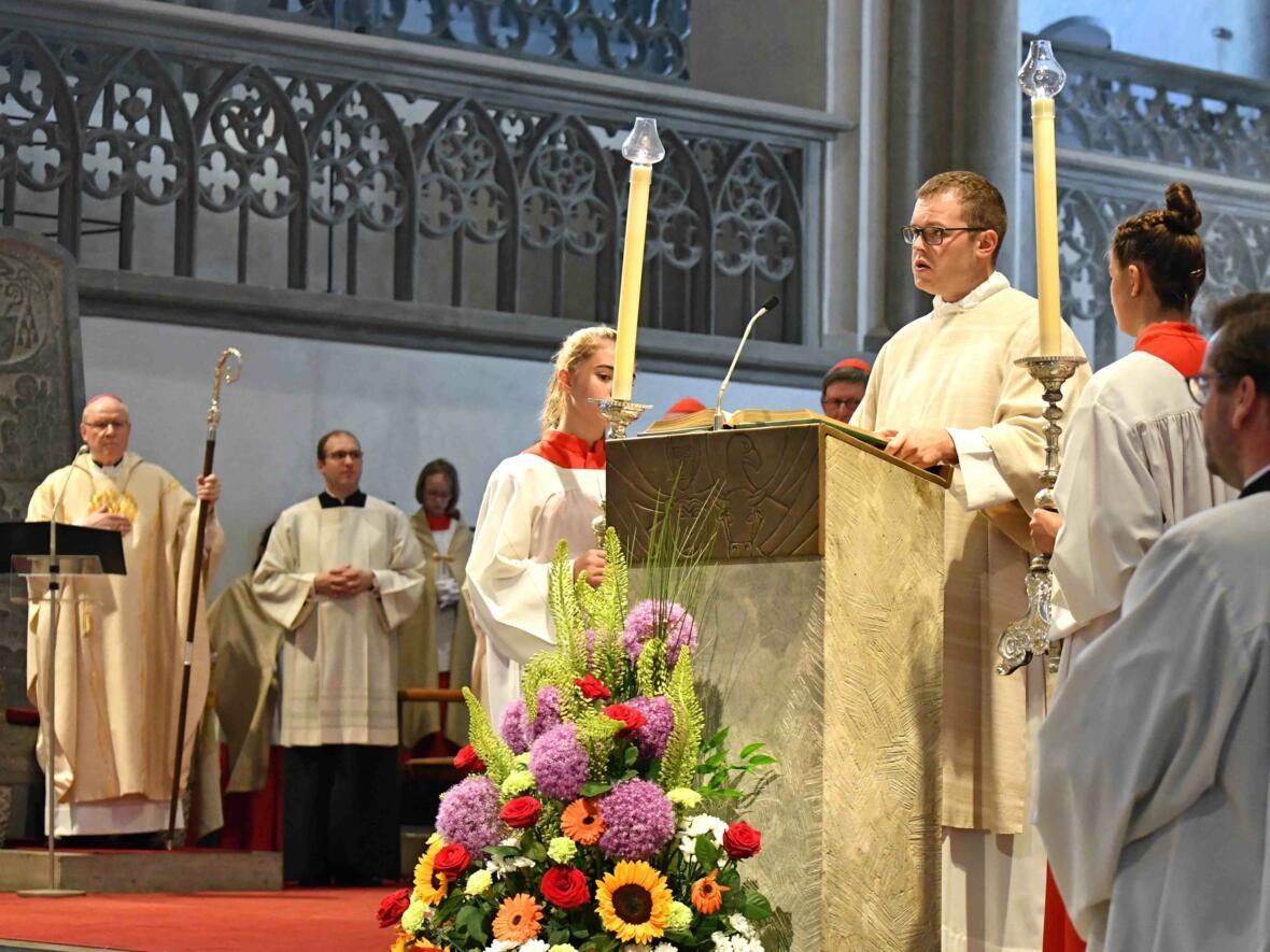 Dankgottesdienst zur Verabschiedung von Bischof Konrad (Foto Nicolas Schnall_pba) 4