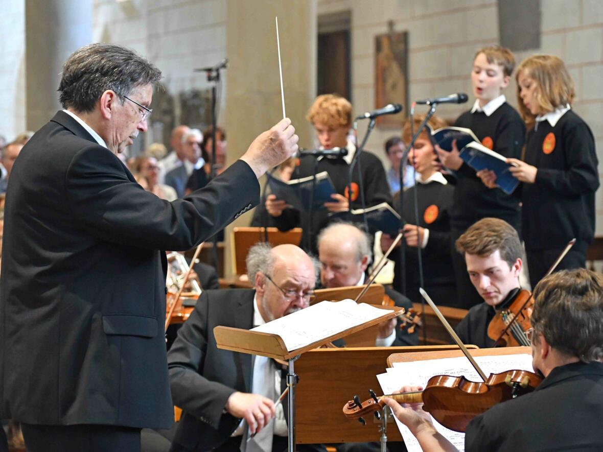 Dankgottesdienst zur Verabschiedung von Bischof Konrad (Foto Nicolas Schnall_pba) 7