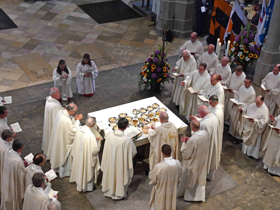 Dankgottesdienst zur Verabschiedung von Bischof Konrad (Foto Nicolas Schnall_pba) 8