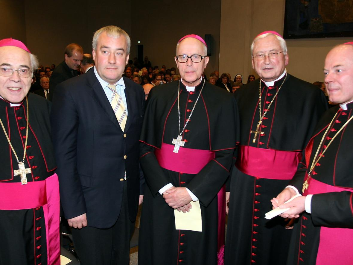 2009: Besuch des Apostolischen Nuntius in Deutschland, Erzbischof Jean-Claude Périsset (Foto: Archiv)
