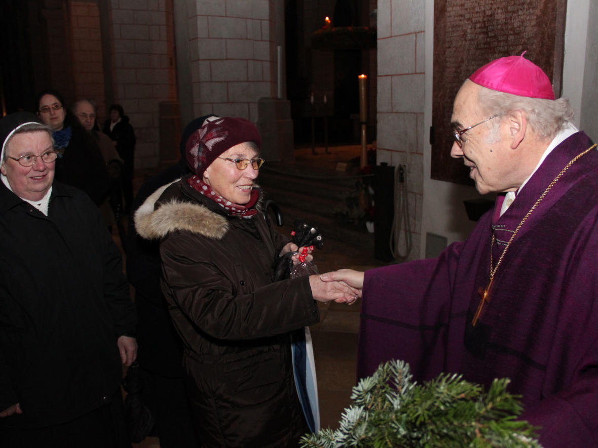 2010: Adventfeier im Hohen Dom (Foto: Archiv)