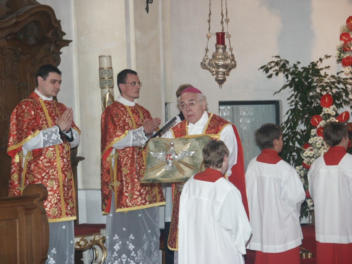 2005: Hl. Messe in Maria Vesperbild (Foto: Archiv)