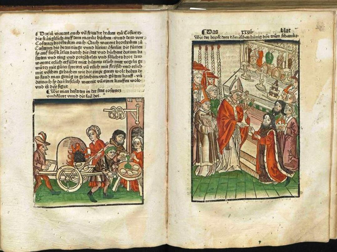 11 Ulrich von Richenthal, Concilium zu Costencz (Augsburg, Diözesanmuseum St. Afra, DMA 1030)