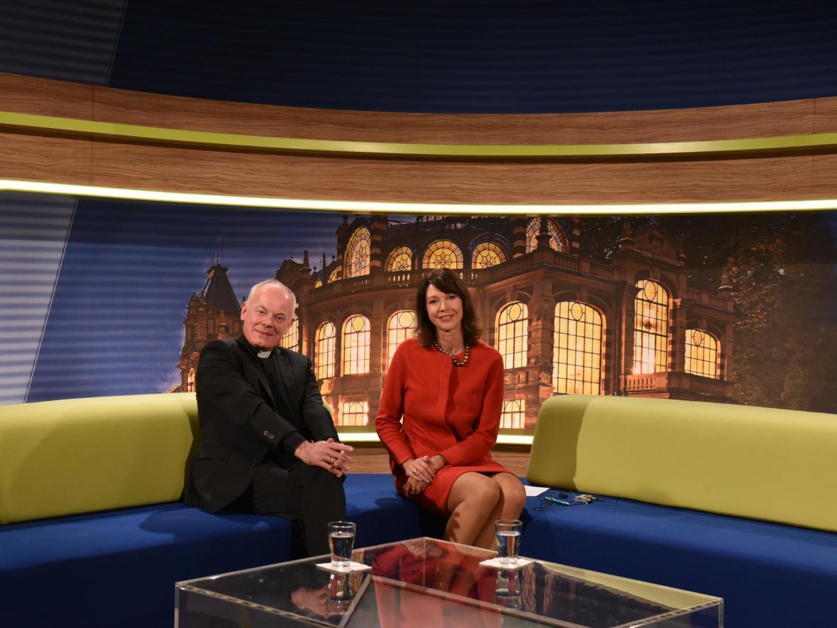 Stadtgespräch a.tv mit Moderatorin Silvia Laubenbacher (Foto: Archiv)