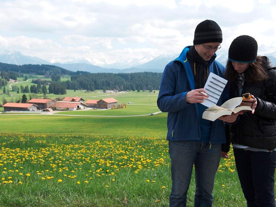 Spiricaching: Eine biblische Schatzsuche durch Seeg. (Foto: Romana Kröling / pba)