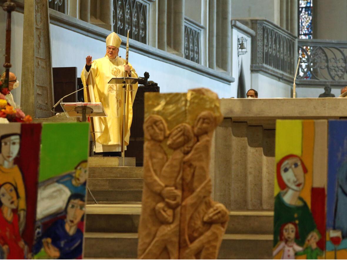 02_100 Jahre Diözesan-Caritasverband_Festgottesdienst mit Bischof Bertram (Foto Annette Zoepf_Caritas Augsburg) 8