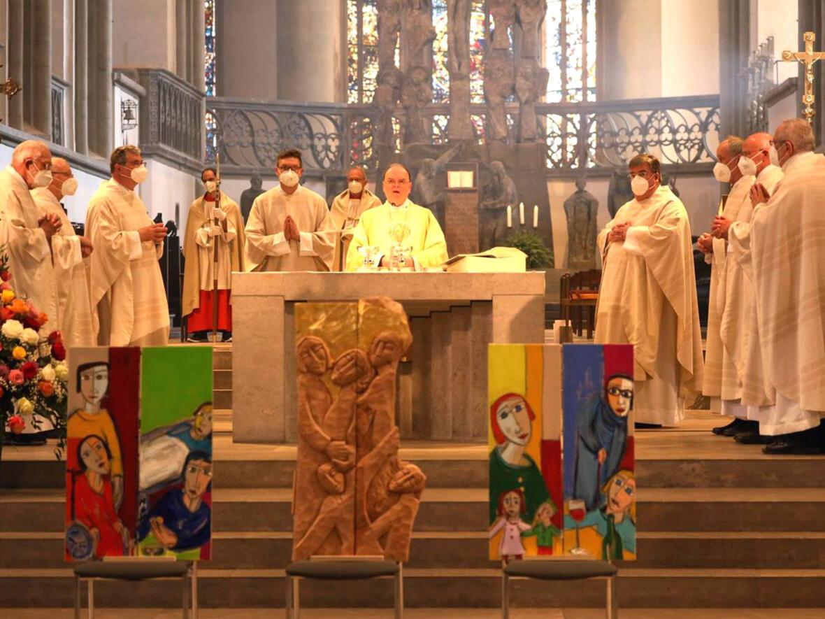 07_100 Jahre Diözesan-Caritasverband_Festgottesdienst mit Bischof Bertram (Foto Annette Zoepf_Caritas Augsburg)