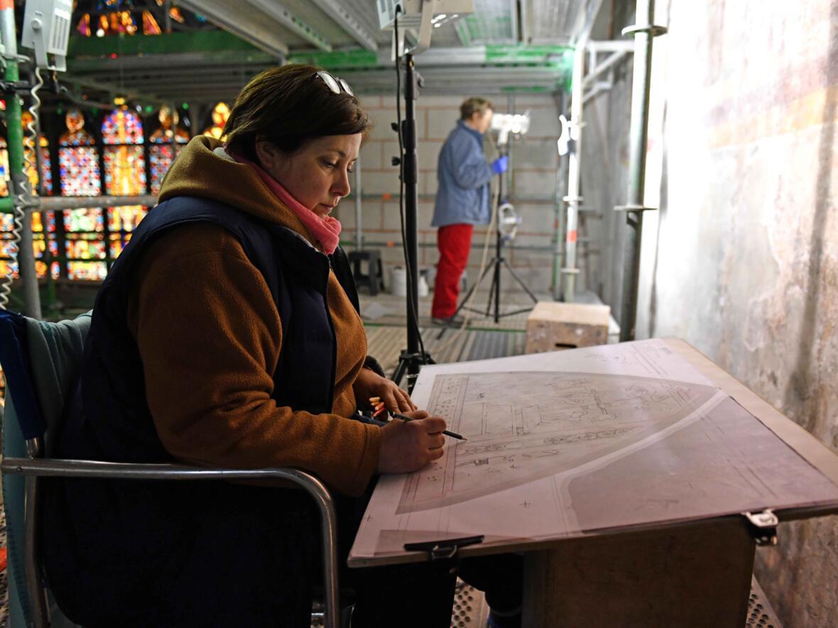 Restaurationsarbeiten Hoher Dom (Foto Nicolas Schnall_pba) DSC_0597
