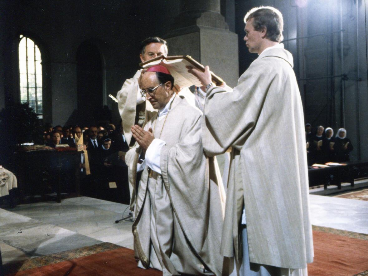 16. Juni 1984: Bischofsweihe im Eichstätter Dom (Foto: Privat)