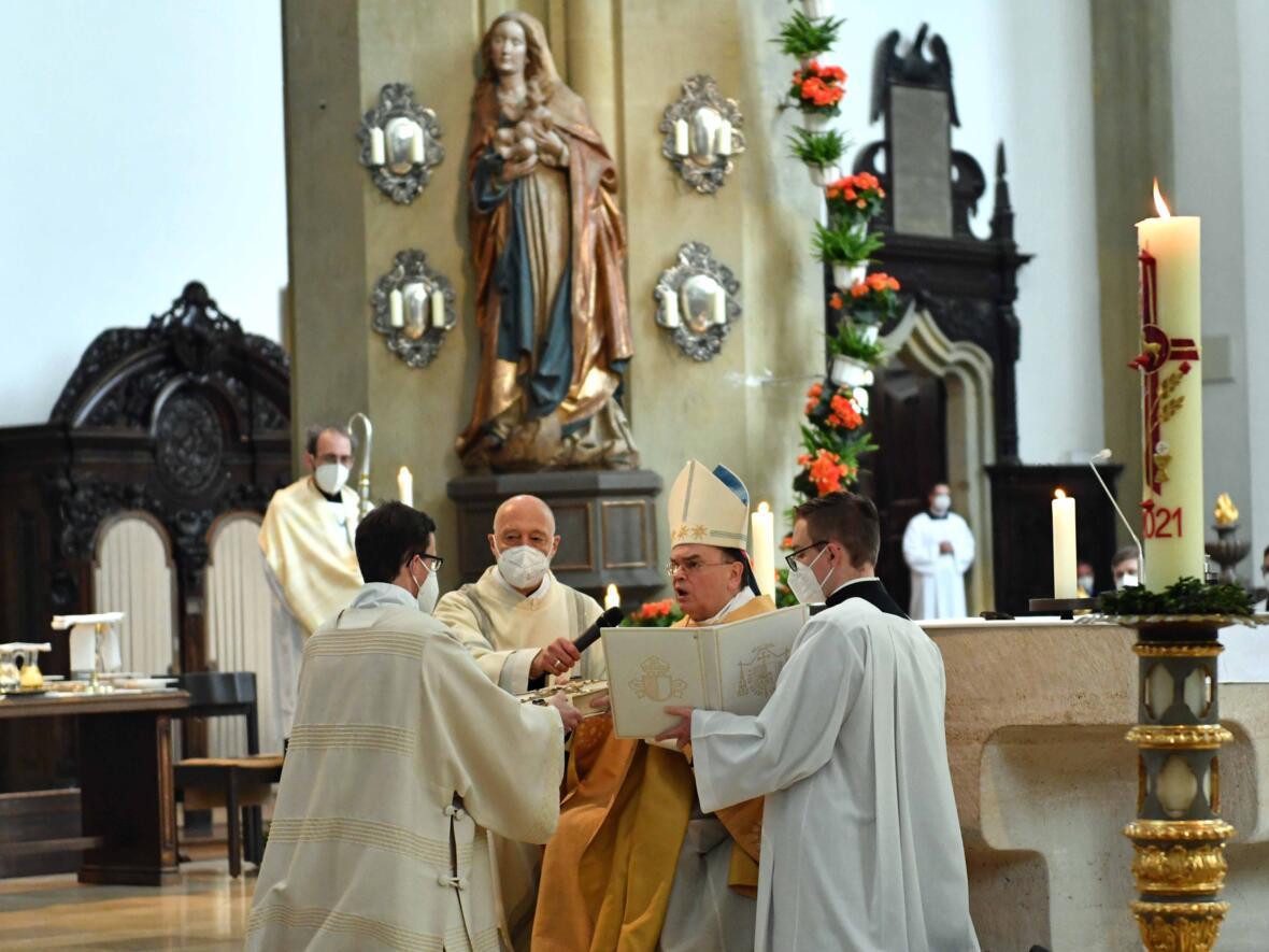 16 Diakonenweihe in der Ulrichsbasilika (Foto Nicolas Schnall pba)