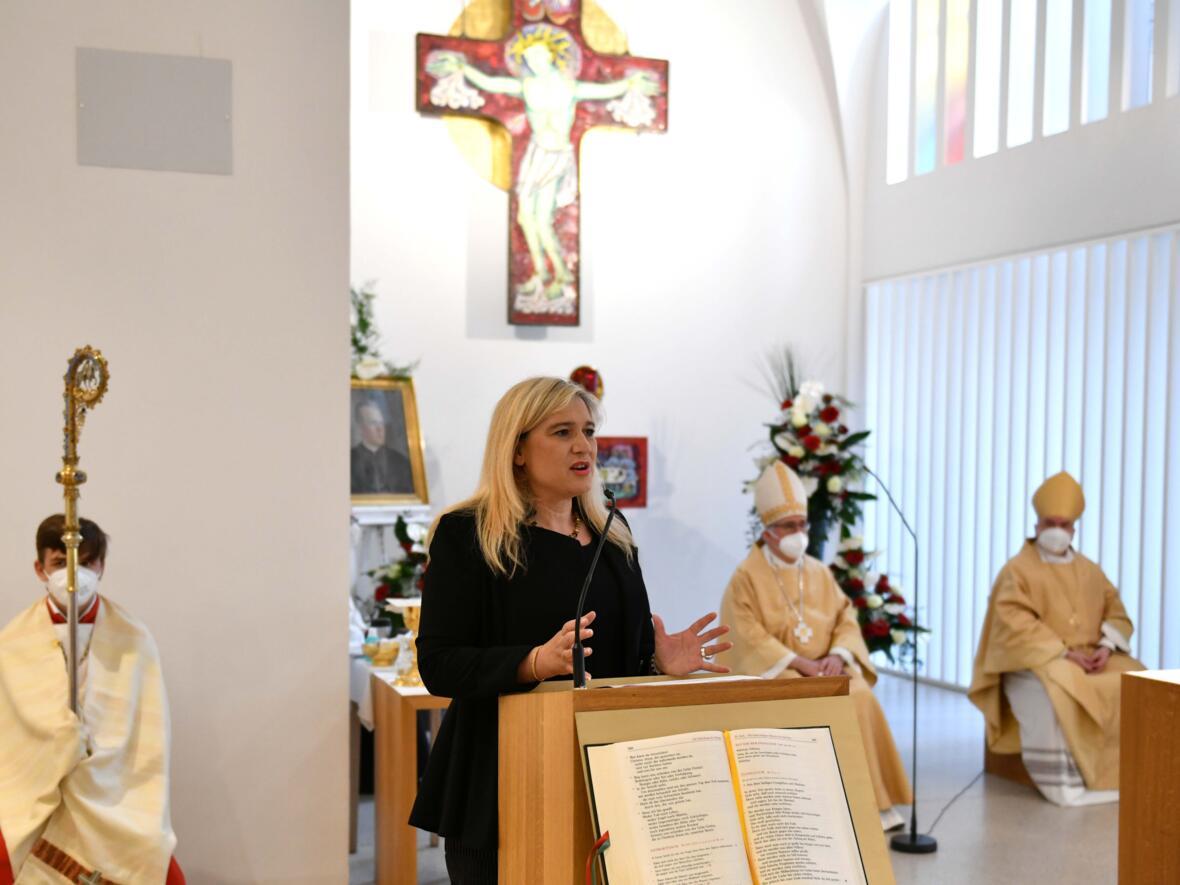Gedenkfeier für den Bekennerbischof Joannes Baptista Sproll (Foto Nicolas Schnall_pba) 12