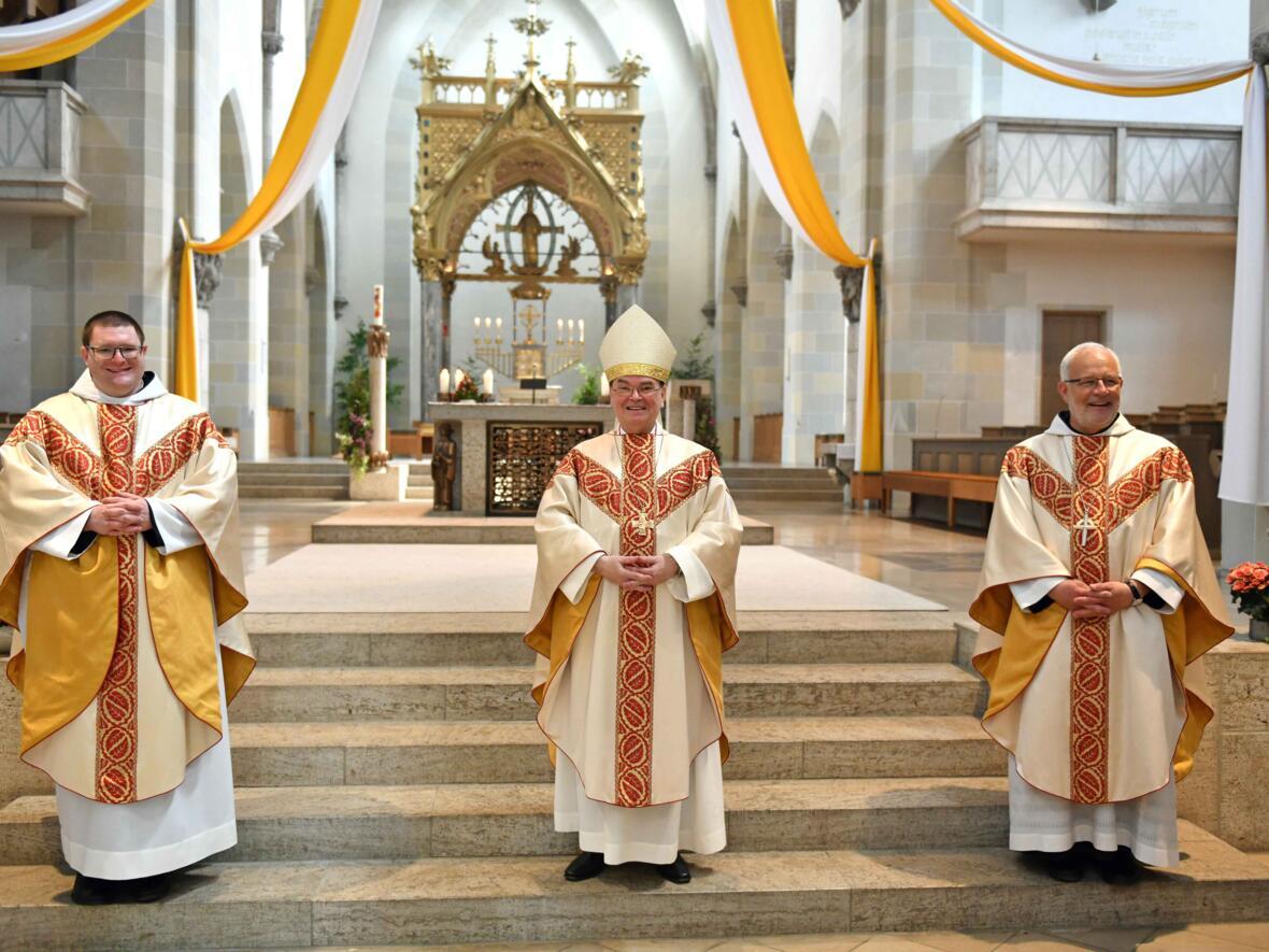 01 Priesterweihe von Michael Bäumler OSB in St. Ottilien (Foto Nicolas Schnall_pba)