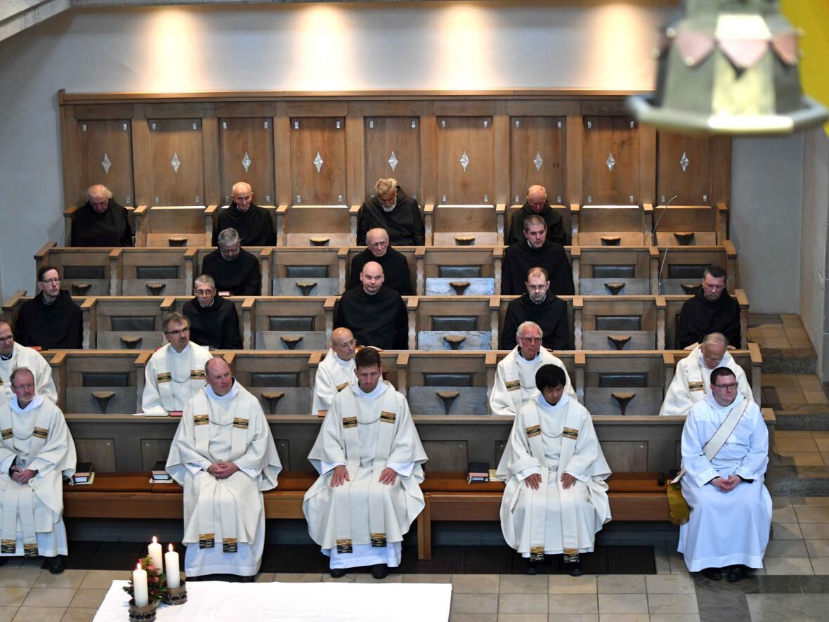 03a Priesterweihe von Michael Bäumler OSB in St. Ottilien (Foto Nicolas Schnall_pba)