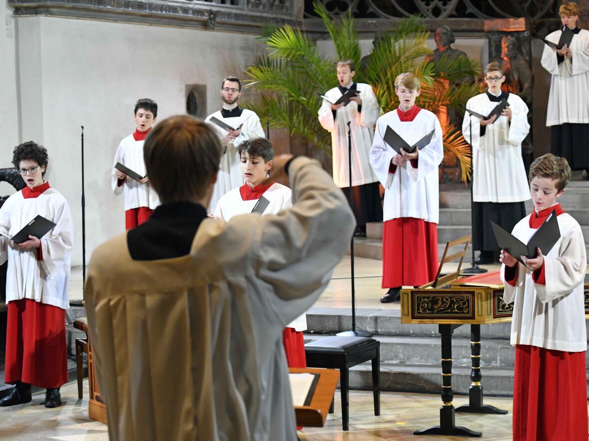 24-stündiges musikalisches Gebet im Hohen Dom (Foto Nicolas Schnall_pba) DSC_1062