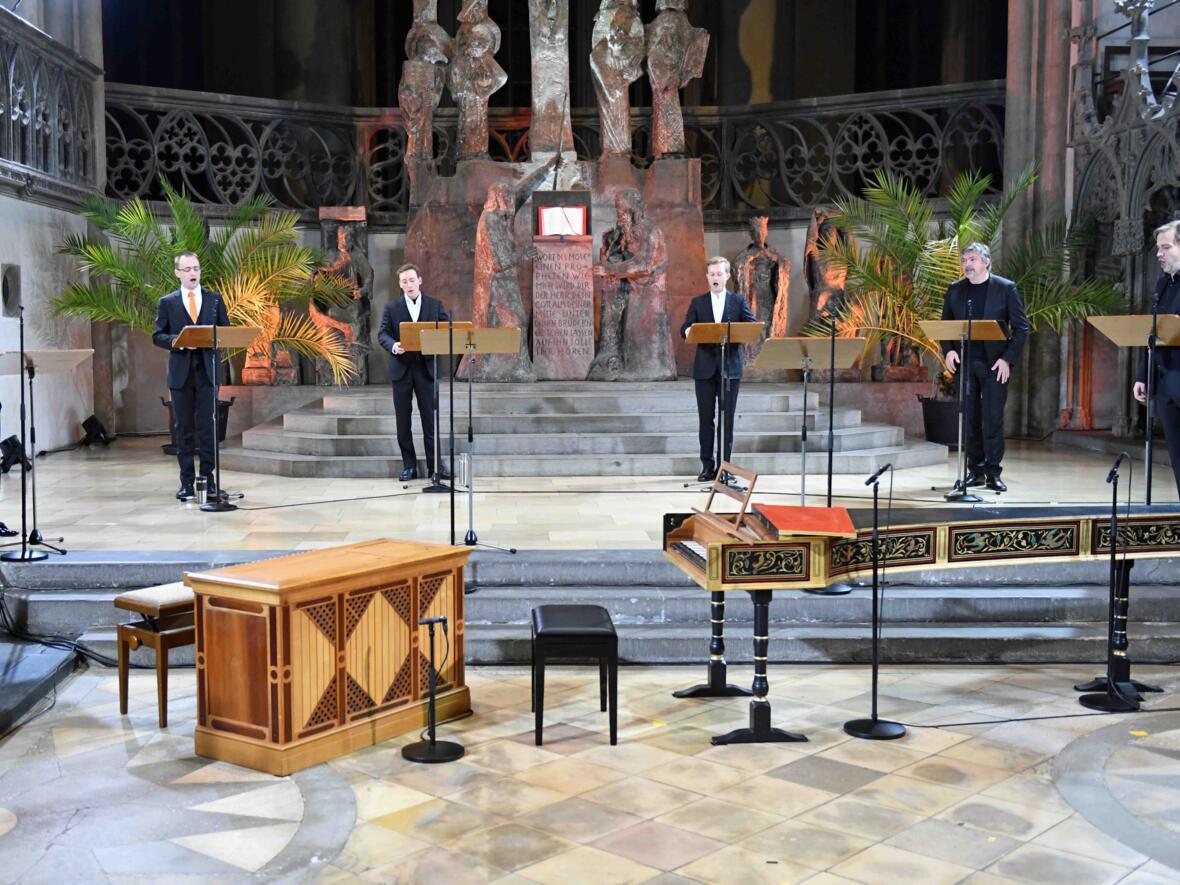 24-stündiges musikalisches Gebet im Hohen Dom (Foto Nicolas Schnall_pba) DSC_1099