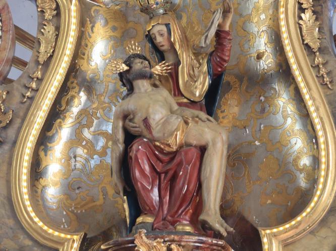 Das Gnadenbild von Maria Vesperbild (Foto: Dr. Peter Düren)