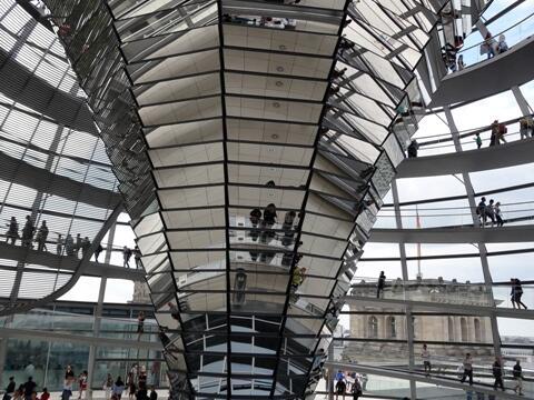 Kuppel Bundestag klein