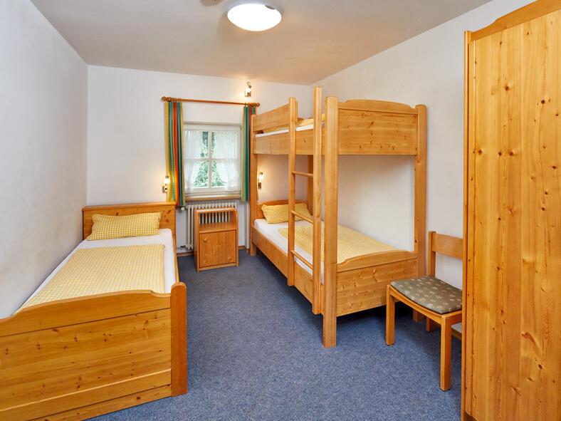3-Bett-Zimmer Tagungshaus Maria Beinberg