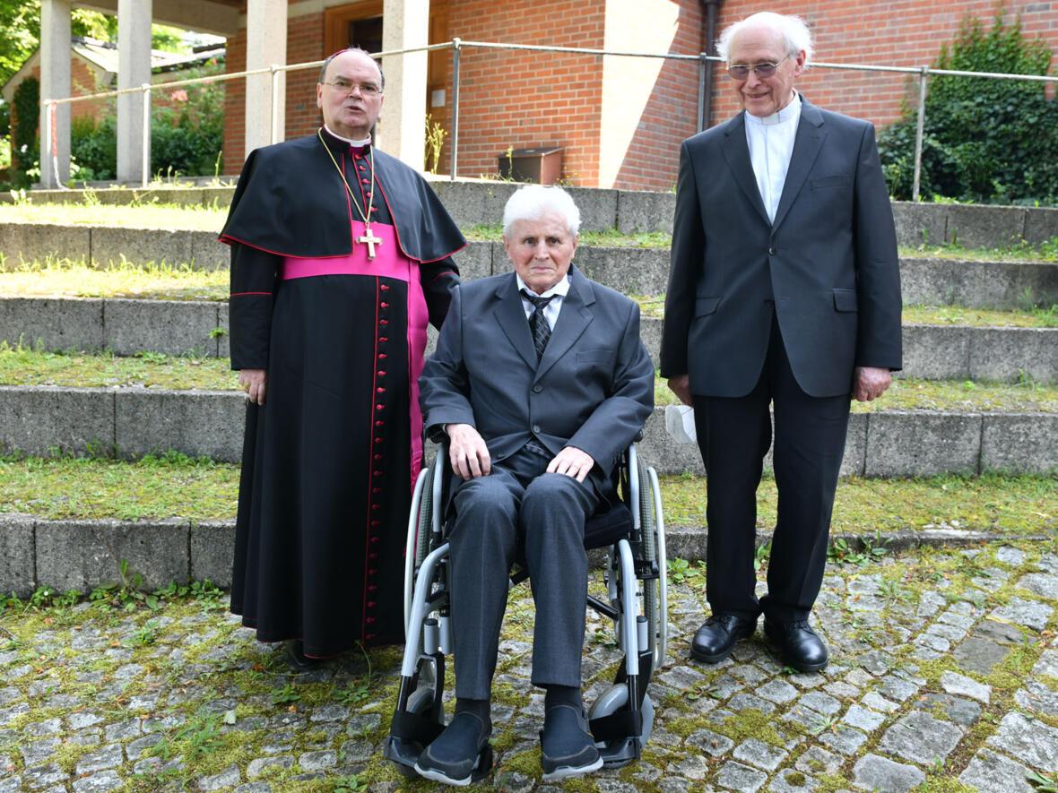 60 Jahre priesterlicher Dienst (Foto: Julian Schmidt / pba)