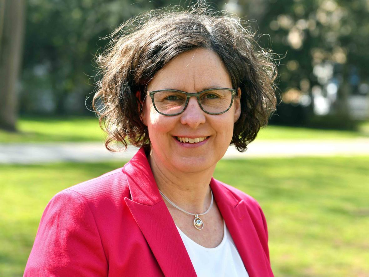 Angelika Maucher, neue Leiterin der Hauptabteilung Seelsorge (Foto Nicolas Schnall_pba)
