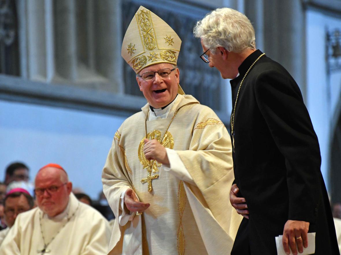 Dankgottesdienst zur Verabschiedung von Bischof Konrad (Foto Nicolas Schnall_pba) 10
