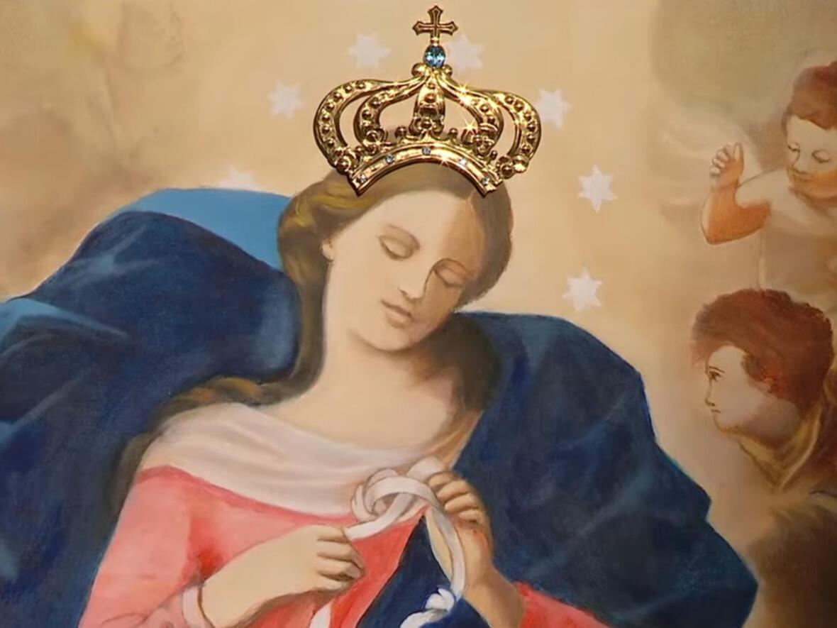 Die gekrönte Knotenlöserin (Fotos: Vatican News)