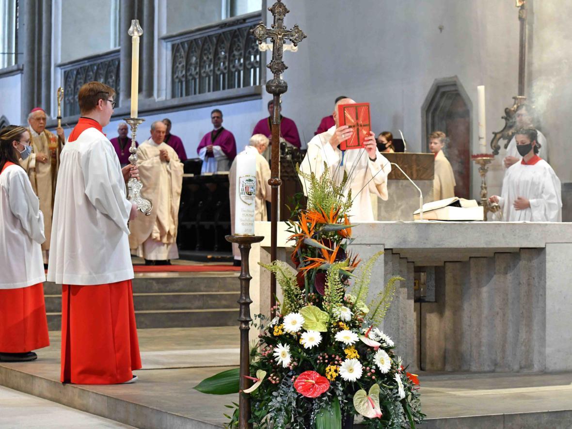 Doppeljubiläum Weihbischof em Josef Grünwald (Foto Nicolas Schnall_pba) DSC_5399