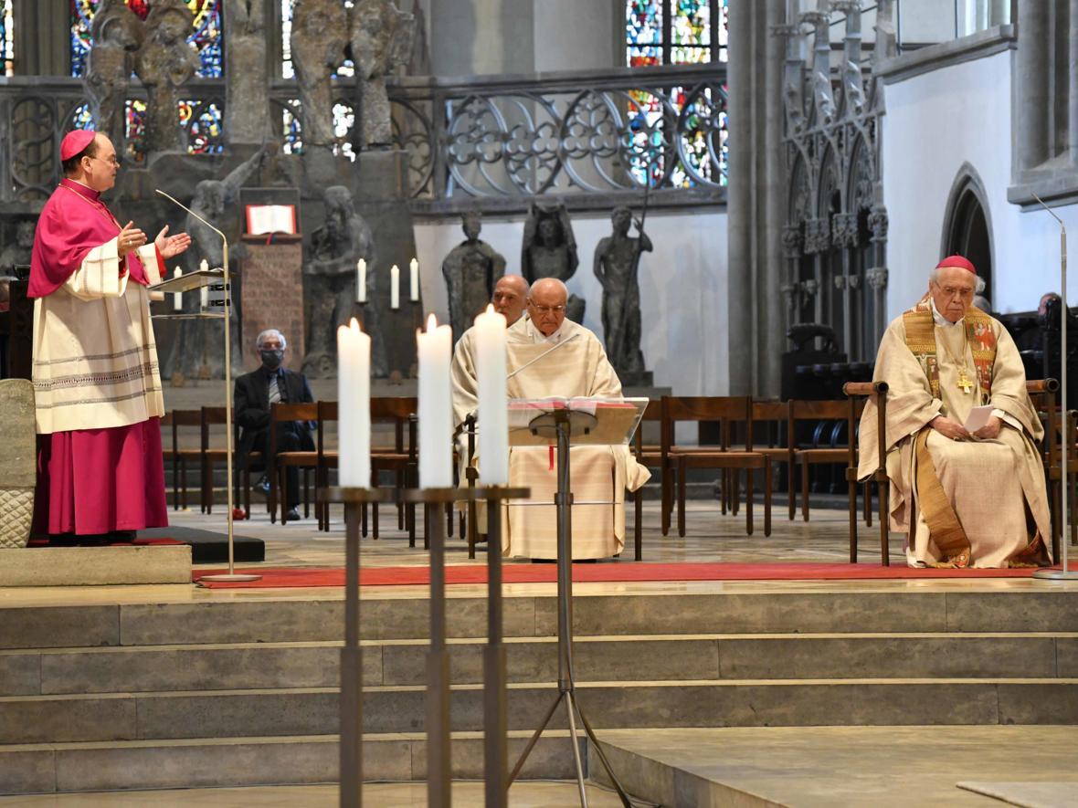 Doppeljubiläum Weihbischof em Josef Grünwald (Foto Nicolas Schnall_pba) DSC_5419