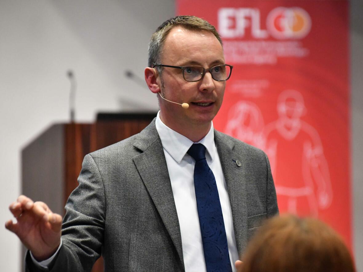 """Dr. Markus Wonka: """"EFL-Beratungsstelle als Ort von Kirche entwickeln."""" (Foto: Daniel Jäckel / pba)"""