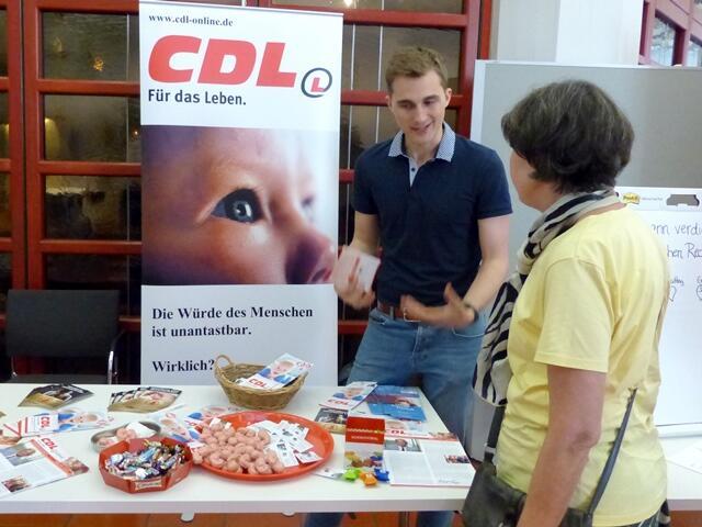 Fachtagung Lebensschutz_Infostand_CDL