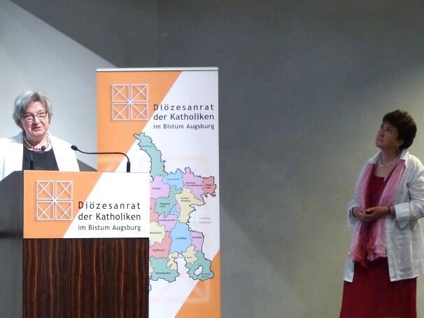 Fachtagung Lebensschutz_Maria-Anna Immerz und Gisela Starringer-Rehm