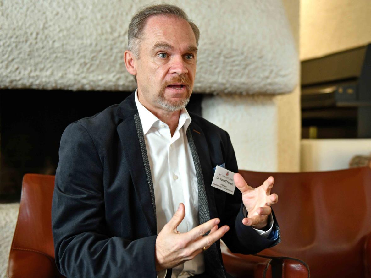 IT-Direktor Dr. Rudolf Scheid.
