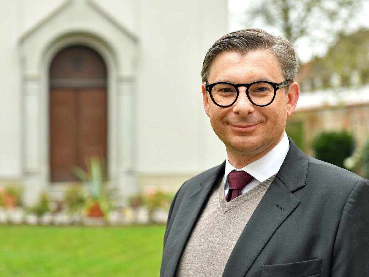 Mit großer Vorfreude auf die neue Herausforderung: Jérôme-Oliver Quella, künftiger Leiter der Hauptabteilung VII.