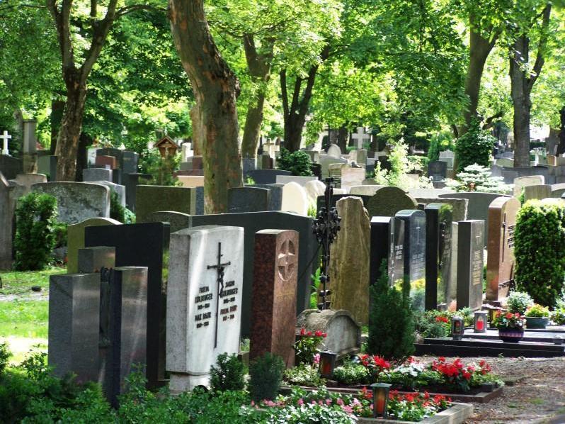 Katholischer Hermanfriedhof in Augsburg
