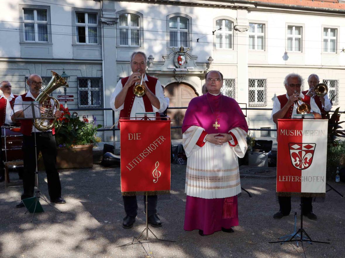 Musikkapelle Leitershofen (Foto: Annette Zoepf/pba)