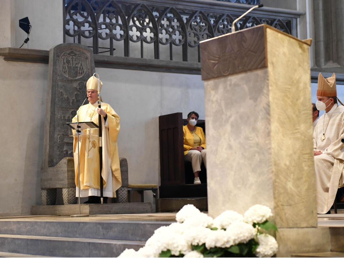 Predigt Bischof Bertram (Foto Maria Steber_pba)