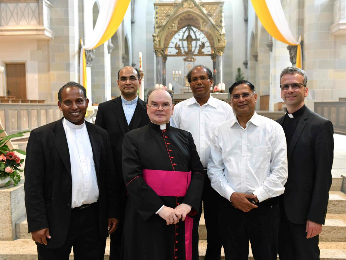 Vor 25 Jahren zu Priestern geweiht.