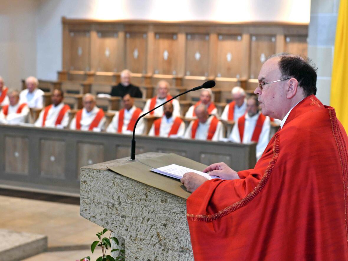 Priesterjubilare 2019  Predigt(Foto Nicolas Schnall_pba)