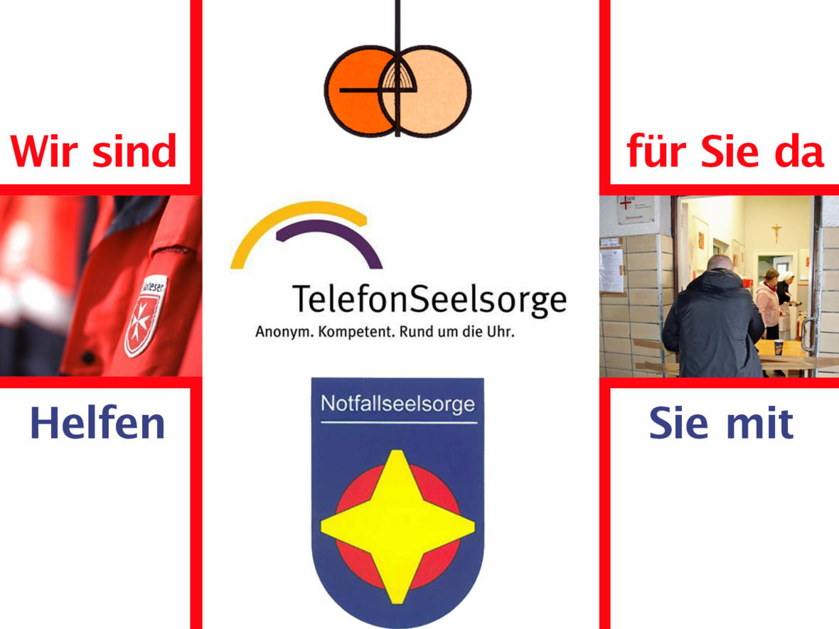 Rat und Hilfe im Bistum Augsburg (Grafik: Sonja Haller / pba)
