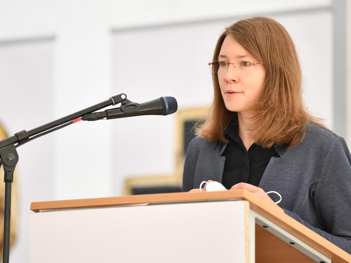 Schulleiterin Miriam Pientschik.