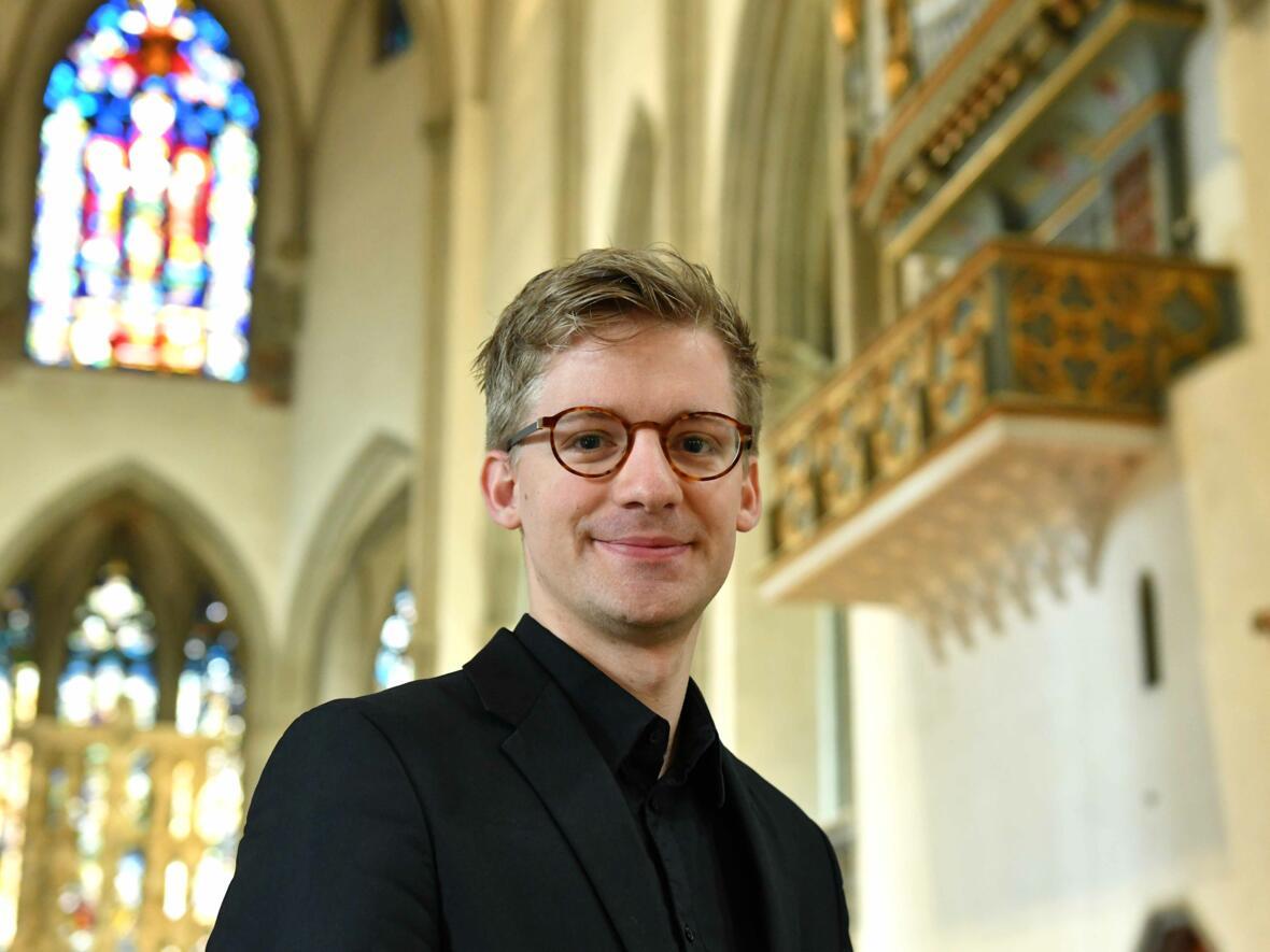 Stefan Steinemann wird ab 2020 neuer Domkapellmeister. (Foto: Nicolas Schnall / pba)