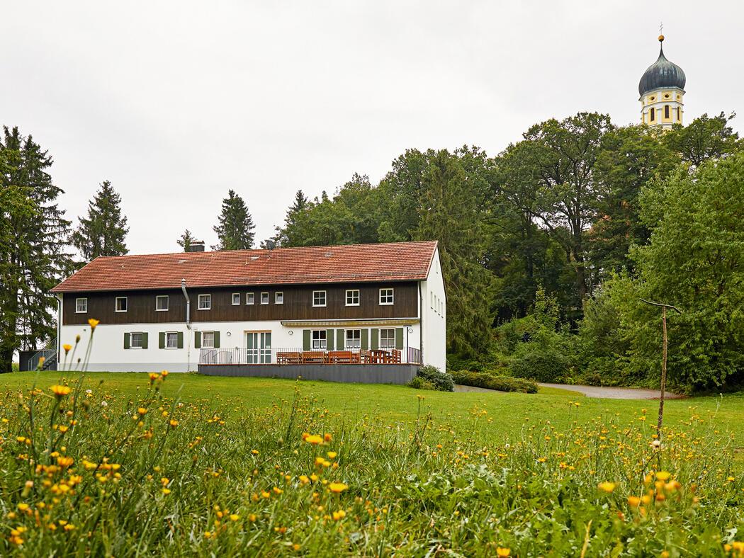 Tagungshaus Maria Beinberg vom Garten