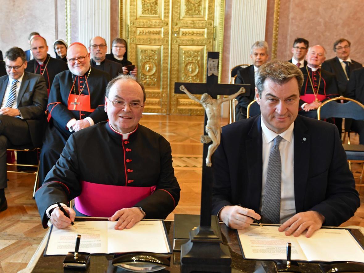 Vereidigung des ernannten Bischof von Augsburg, Prälat Dr. Bertram Meier (Foto Nicolas Schnall_pba) 13