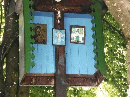 Wegkreuz an der Hechenrainer Straße - Abzweigung Vogelmühle