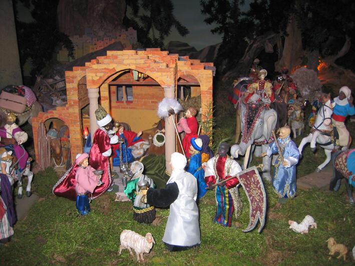 Anbetung der Heiligen Dreikönigen