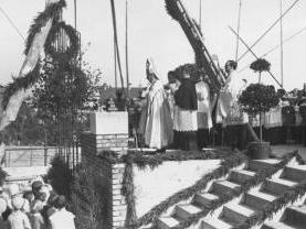 Grundsteinlegung 1934