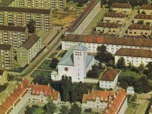 St. Canisius und das Hochfeld 1966