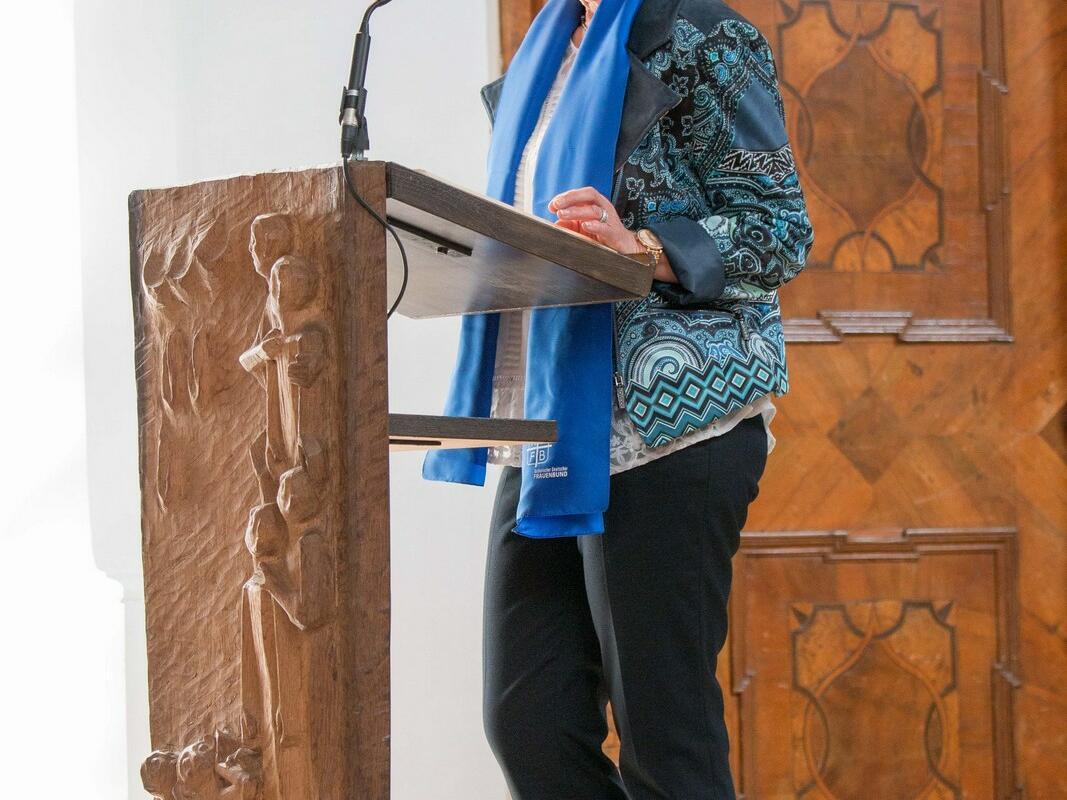 Renate Geiger bei der 2. Lesung